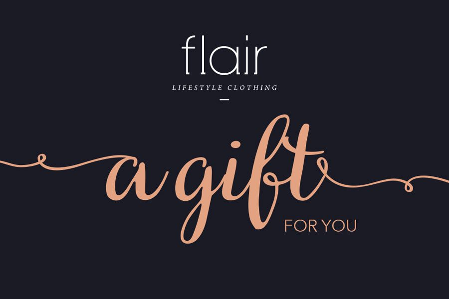 Flair Lifestyle Clothing Gift Card