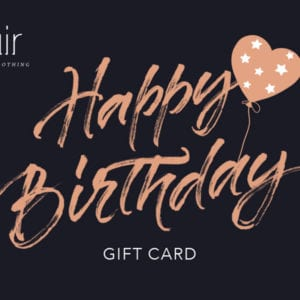 Flair Lifestyle Clothing - Happy Birthday